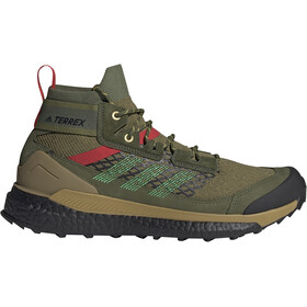 adidas TERREX Free Hiker Blue Scarpe da trekking Uomo, verde oliva